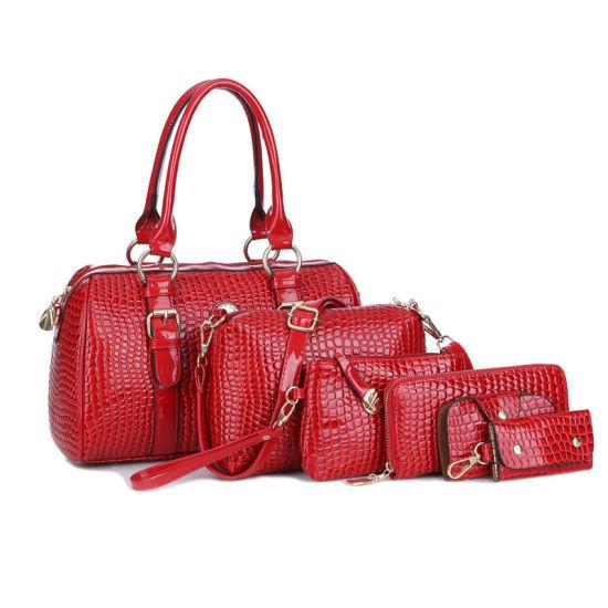 2019 Fashion Lady Pu Leather Purse Tote Bags Women Handbags Whole Handbag China