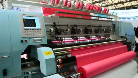 Hot Selling Quilting Machine Full Automatic Computer Cushion Garment Quilting Machine