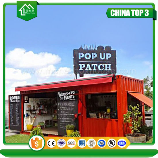 20FT Military Camp Fast Food Prefabricated Container Mobile Kitchen