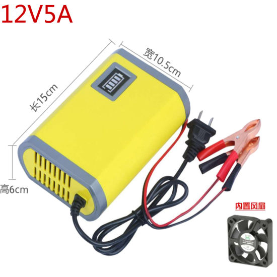 12V Electric Car Battery Charger with CE Certificate