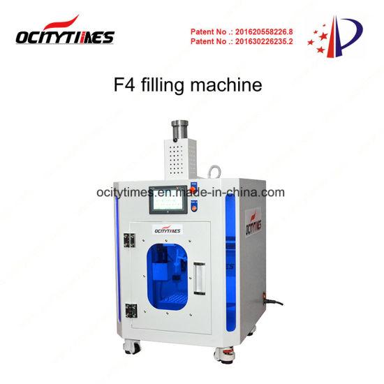 Ocitytimes F4 AC110V 300W No Need Compressor Easy Fill Oil Filling Machine for. 5ml 1ml 510 Vape Cartridge