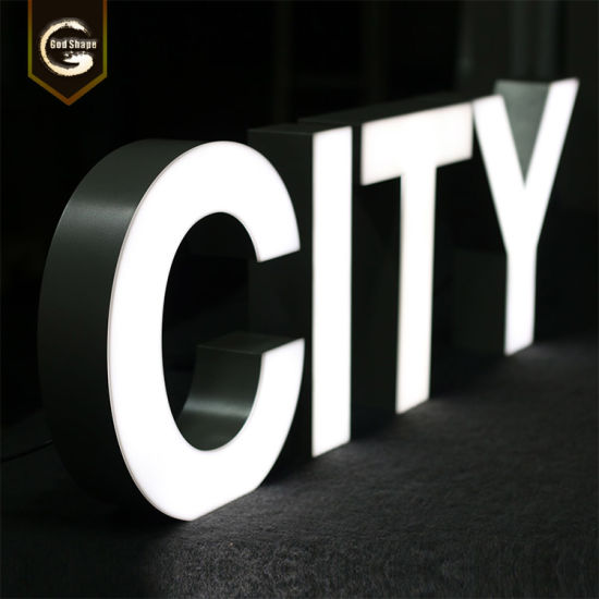 Custom Frontlit Channel Letter Acrylic Metal Frame LED Sign Advertising Exhibition Display pictures & photos