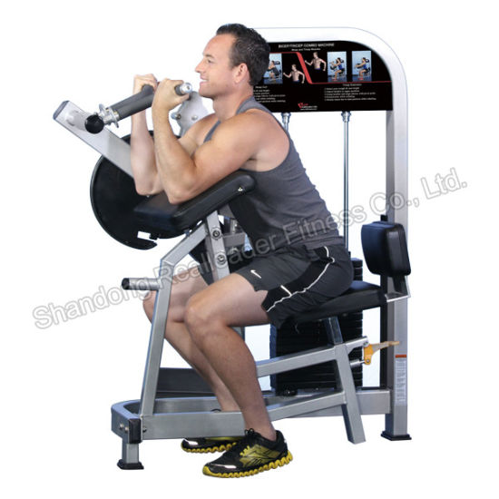 Biceps/Triceps Curl Arm Cycle Exercise Machine Multi Gym Equipment pictures & photos