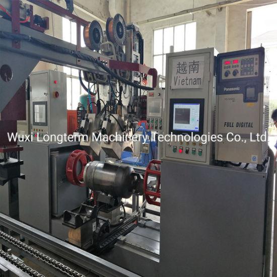 Auto. LPG/LNG Cylinder Circumferential Welding Machine