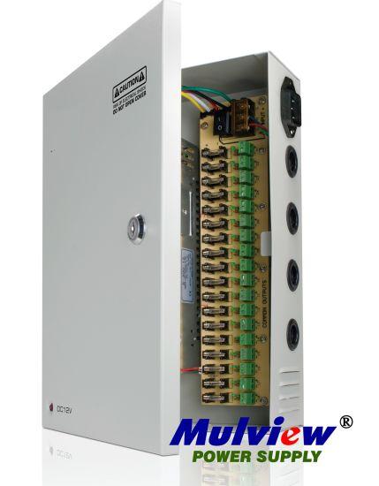 18CH 12V20A 250W CCTV Camera Power Supply Unit