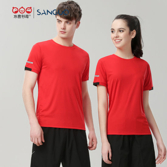 Clear Stock Cheap Price Good Quality Promotional Mesh Polo Shirt