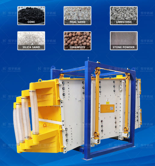 Industrial Accurate Separations Hanging Rectangular Gyratory Sifter