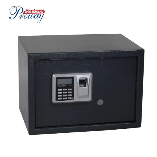Biometric Fingerprint Safe with Digital Keypad Lock LCD Screen Dimension 350X250X250mm