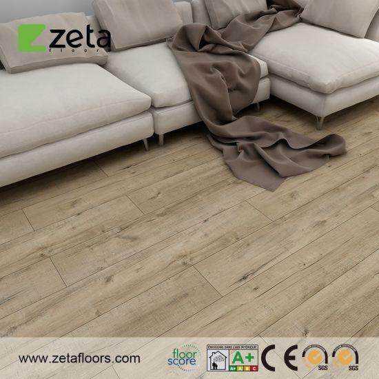 Click Spc Lvt Vinyl Flooring Plastic Floor Tile Environment-Friendly