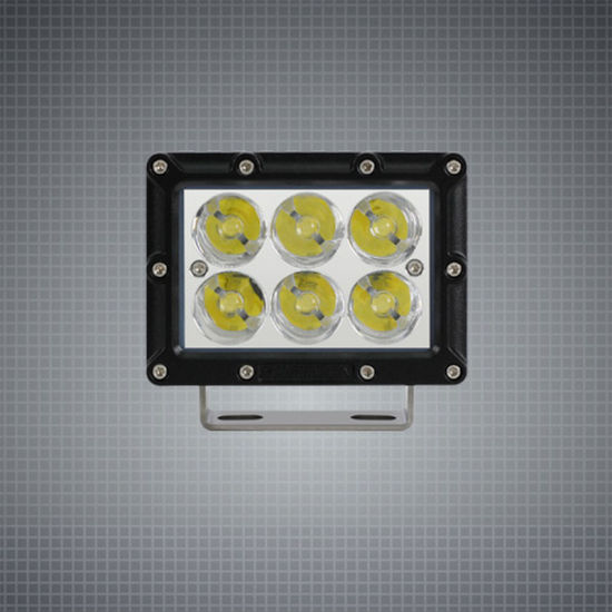 Wide Flood 30W 5 Inch 12/24V CREE LED Work Light for Tractor Agriculture Machinery