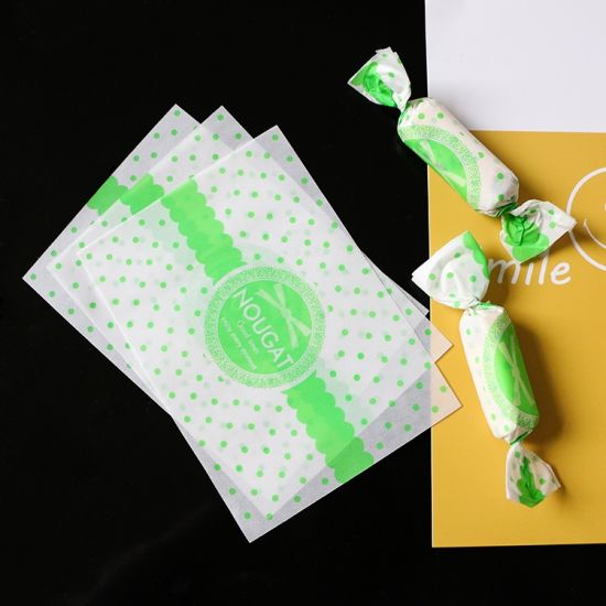 Wholesale Candy Food Grade Print Food Packaging Wrapping Paper
