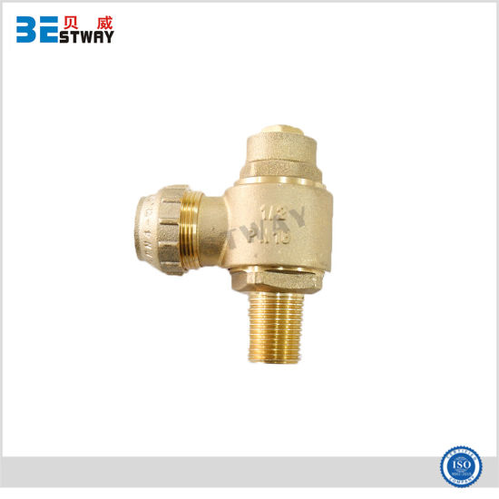 China Brass Thread Brass Ferrule with Loose Joint