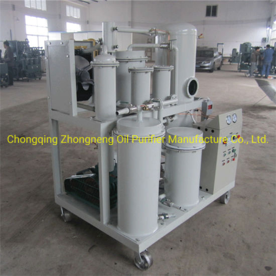 Vacuum Lube Oil Purifier Machine with Fine Filter