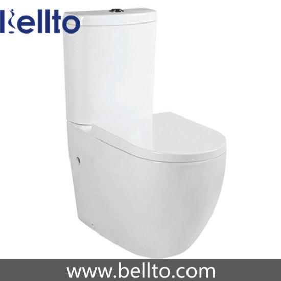 Bathroom two piece toilet (B-016)