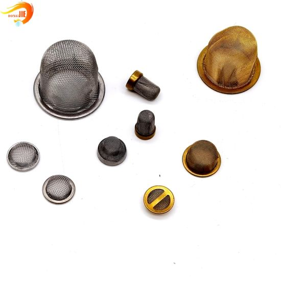 Stainless Steel Brass Dome Shape Screen Tobacco Smoking Pipe Screen Filters