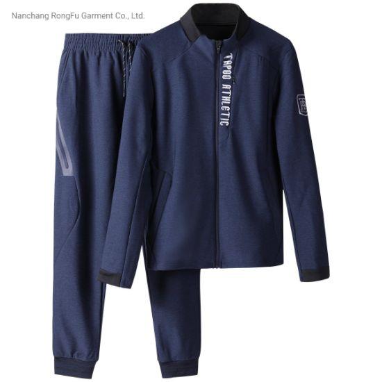 Golf Men's Zipper Print Hoodie Sports Suit Leisure Tracksuit