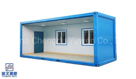 Reusable Sandwich Panel Prefab House Modern Container Kit Home Size Optional