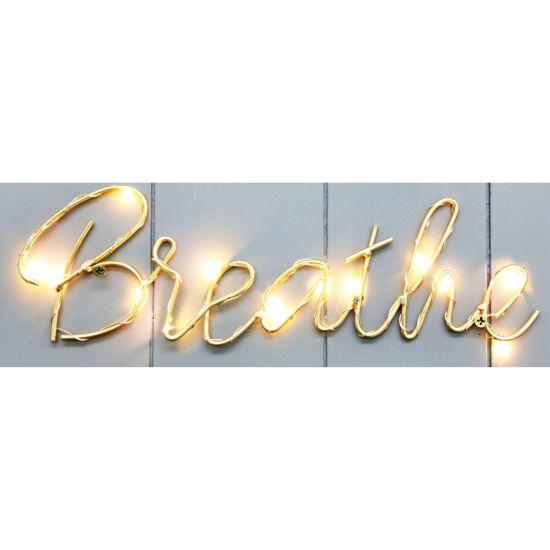 Wire Letter LED Light 30X9cm Letter LED, Wire Decoration, Decoration LED, LED Decor