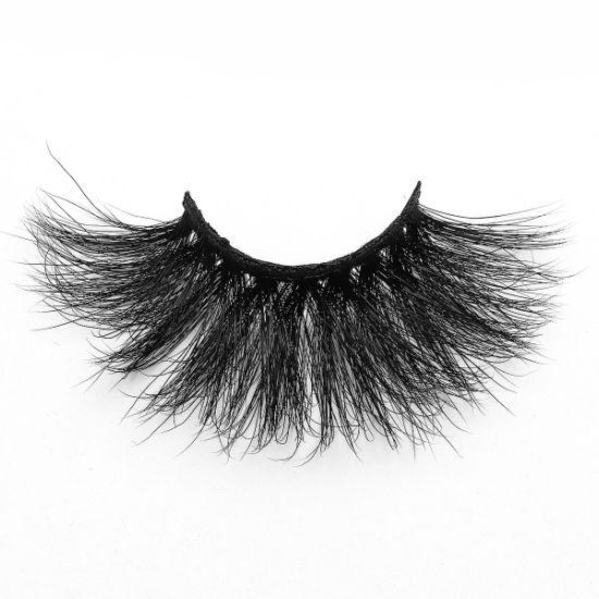 Free Sample Siberian Mink Lashes 5D Private Label Eyelashes