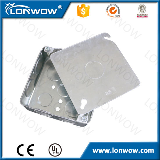 Galvanized Electrical Junction Box