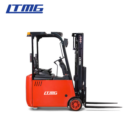 Chinese Ltmg Brand New Warehouse Three Wheel Battery Forklift 1.5 Ton 1.6ton 2 Ton Electric Forklift for Sale