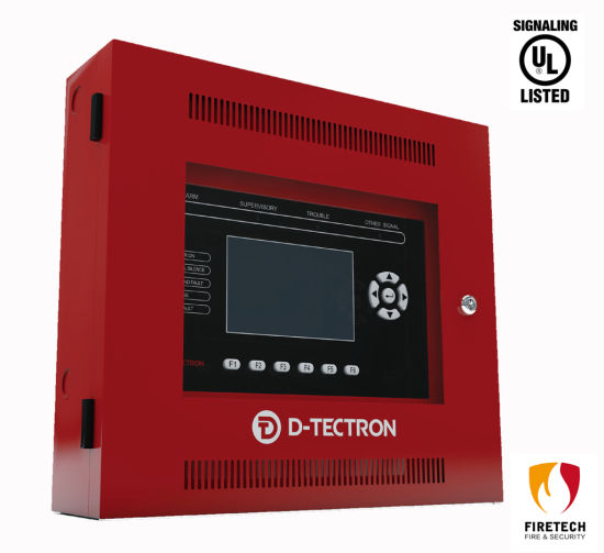 UL Listed Intelligent Fire Alarm System Remote LCD Annunciator Dt121 pictures & photos