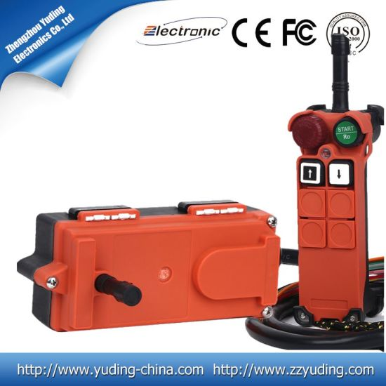 F21-2s 446MHz Chain Hoist Crane Wireless Remote Control Switch with Single Speed pictures & photos
