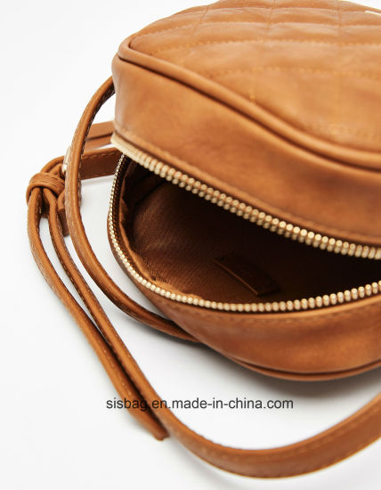 Fashion PU Embroidered Crossbody Bag Women Mini Bag pictures & photos