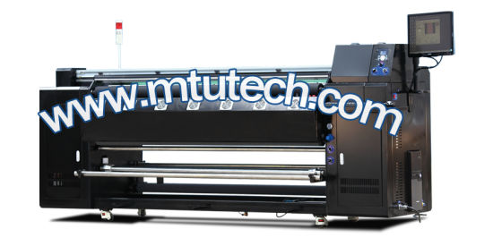 Cotton Fabric Rollers Textile Printer with 6 Colors for Best Brightness