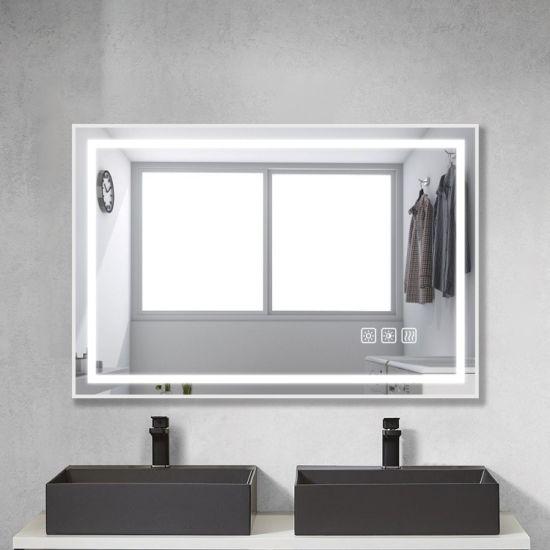Home Decoration U L Certified Venetian Glass Mirrors Bathroom Accessories Led Bathroom Mirror 3000 6500k China Mirror Sanitary Ware Made In China Com