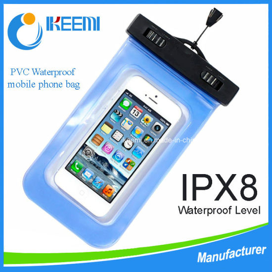 iPhone PVC Waterproof Mobile Phone Bag pictures & photos