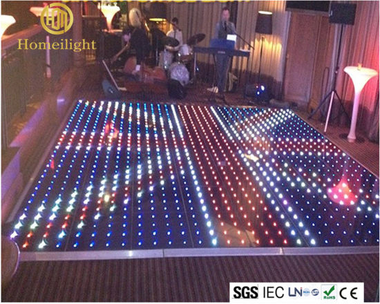 China Outdoor Waterproof Video Interactive LED Dance Floor For - How to make a lighted dance floor