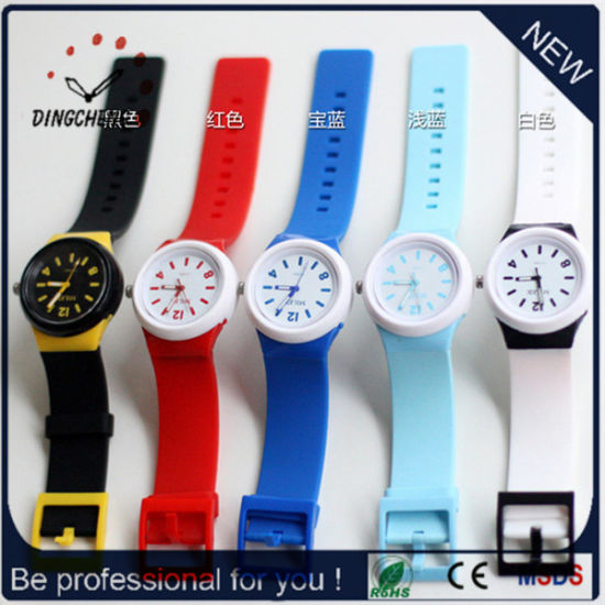 Colorful Promotion Gift Wristwatch Geneva Watch (DC-1074) pictures & photos