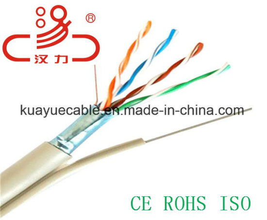 China Drop Wire 1pair Messenger /Computer Cable/Data Cable/Communication Cable/Audio Cable/Connector pictures & photos