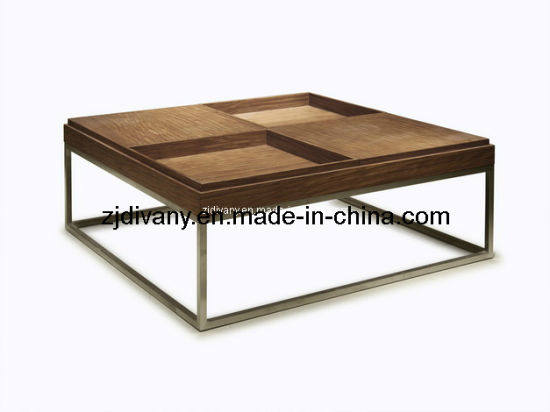 China American Style Solid Wood Square Coffee Table Tea Table T 19