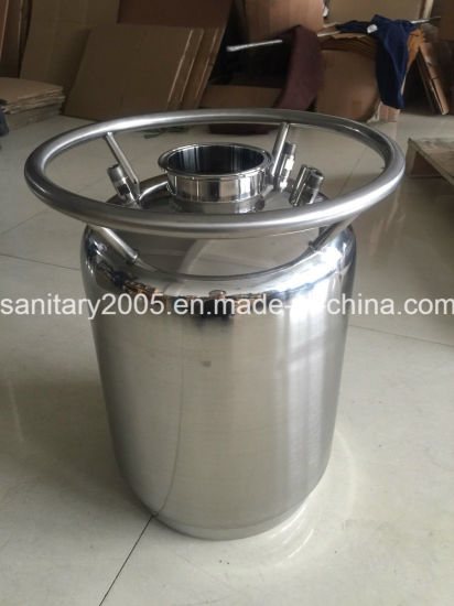 """50lb Stainless Steel Solvent Tank with 12""""X24"""" for Food Industry"""