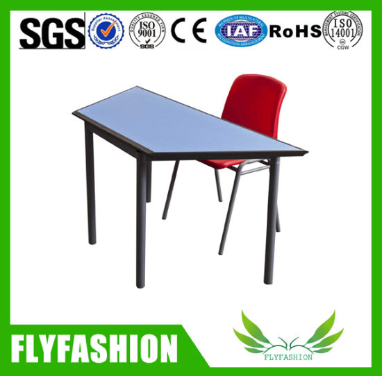 New Style Classroom School Desk And Chair Kid Tzoid