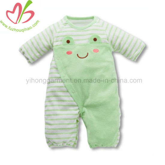 197c8e68d18a China Cute Baby Girl Winter Onesie with Bow Baby Garment - China ...