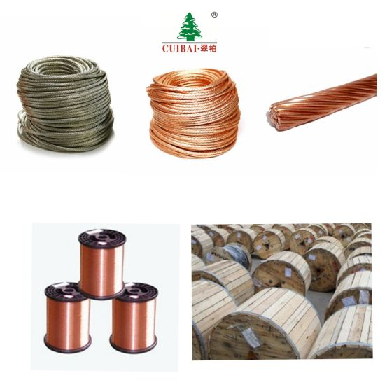 Solid/ Stranded Bare Copper Conductors Wire for Cable