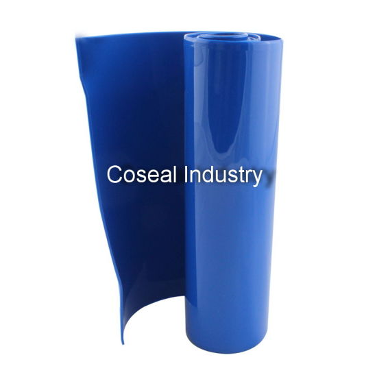 Blue Opaque PVC Strip Curtain pictures & photos