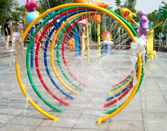 Cheap Price Used Water Park Equipment Children Water Spray