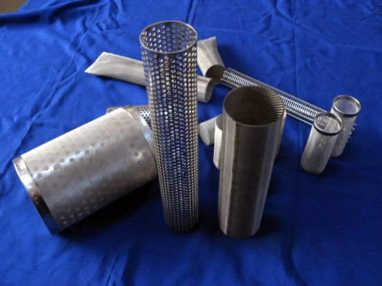 Stainless Steel Perforated Metal Cartridge Filter pictures & photos