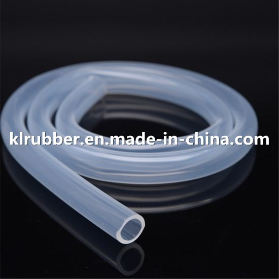 Food Grade Transparent Color Heat Resistant Silicone Rubber Tube pictures & photos