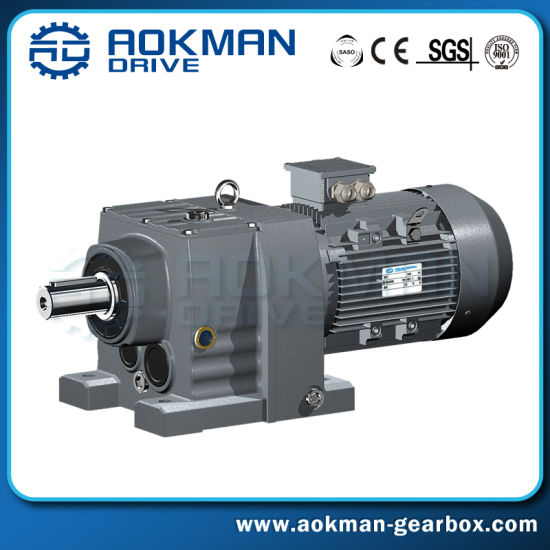 China Industry Transmission R Series Forward Reverse Gearbox
