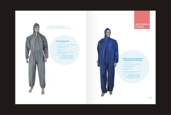 PP Sterile Disposable Medical Gowns/Surgical Gown with Cap pictures & photos