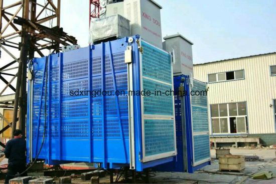 China Building Material Hoist Lift Elevtors and Price