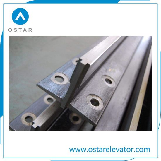 T Type Machined Elevator Guide Rail with Factory Price (OS21) pictures & photos