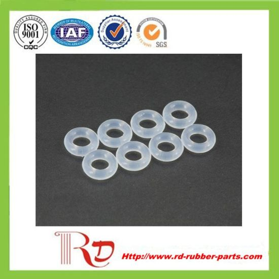 Practical and Durable Clear Silicone Rubber O Ring pictures & photos