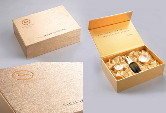 Cosmetic Skin Care Paper Packaging Boxes Gift Boxes for Cosmetics for Sale - بسته بندی مواد آرایشی : محصولات آرایشی