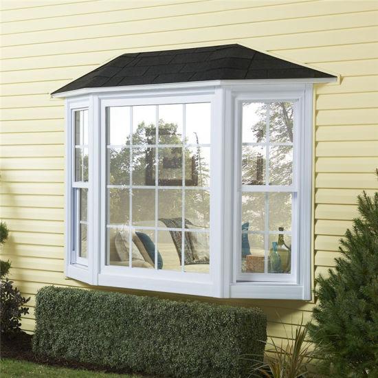 Wholesale Soundproof Customized Casement Window PVC UPVC Windows with Grills Building Material Blinds for Windows Building Construction PVC Door UPVC Casement W